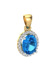 topaz london blue